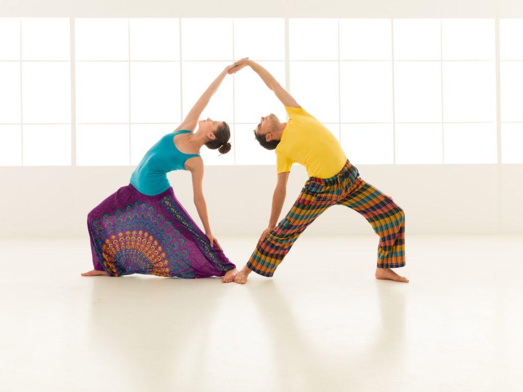 Yoga mit der Partnerin / mit dem Partner